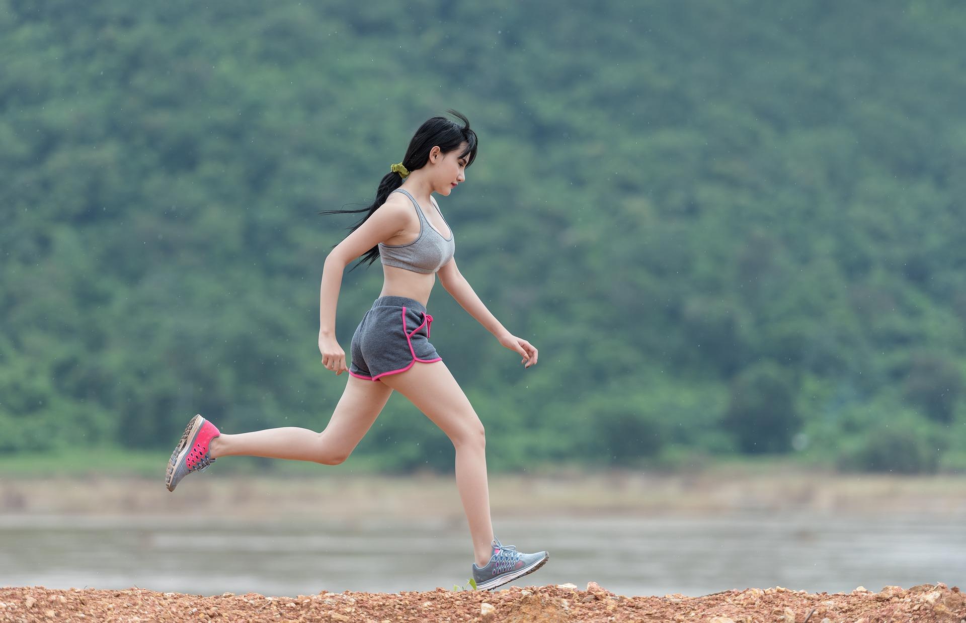 Kvinde_løber