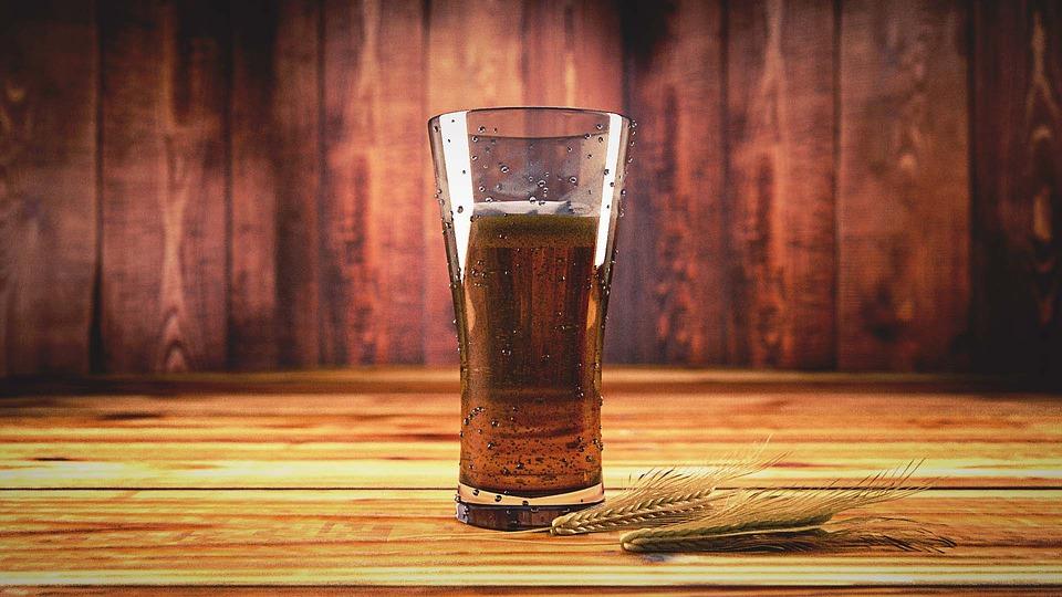 cola, bord, drikkelse, drink, korn, hvede